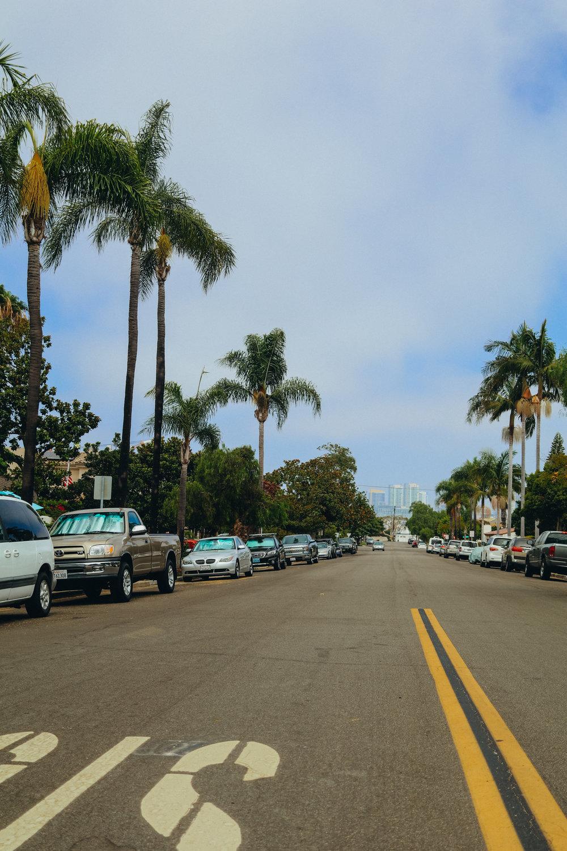 View of downtown San Diego from Coronado.