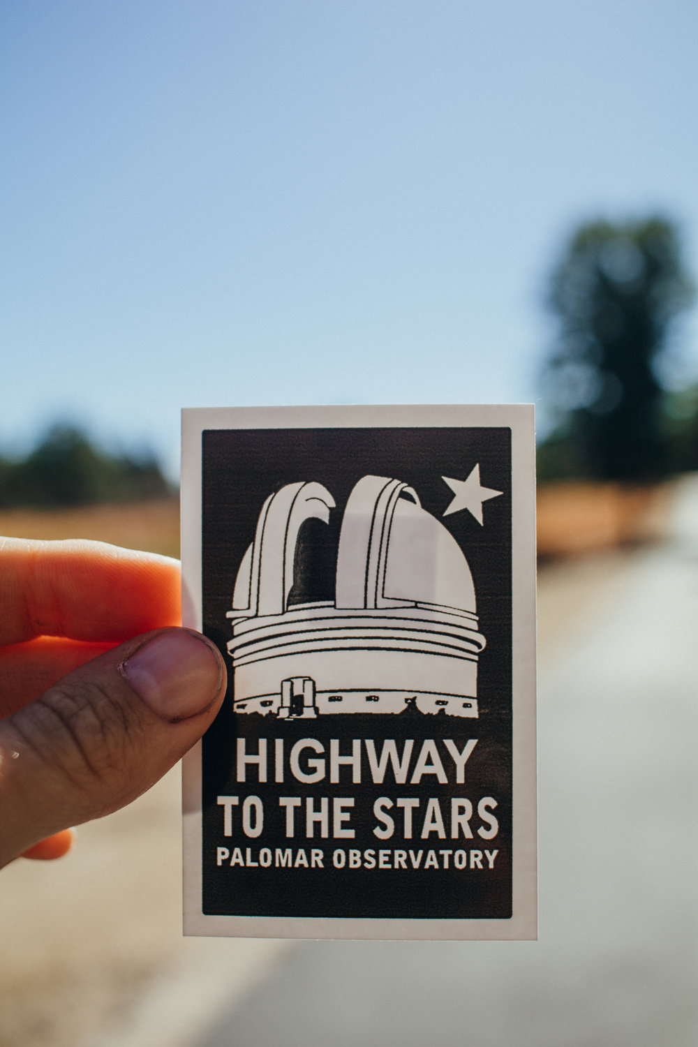 highway to the stars at mount palomar observatory