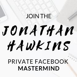 Jonathan Hawkins Private Facebook Mastermind