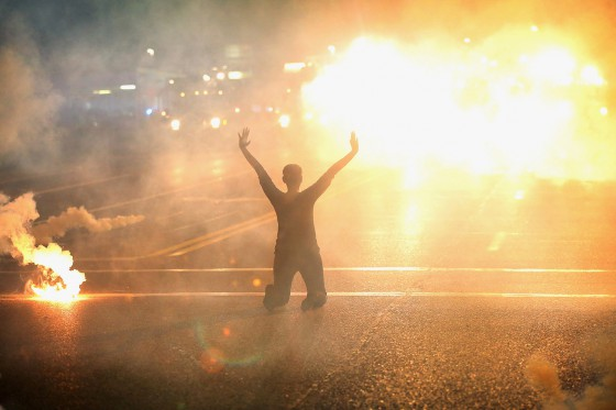 Ferguson, Missouri. Credit to Getty Images.