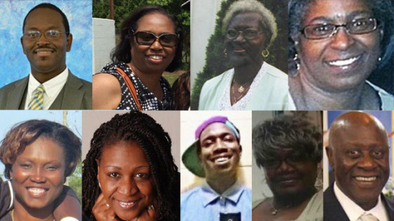 The Nine People Killed in Charleston. Credit to WSB-TV