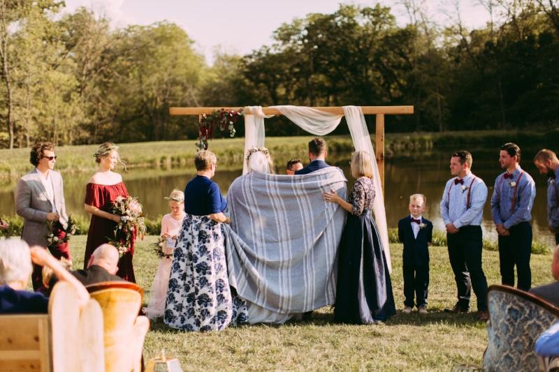 Native American Blanket Ceremony