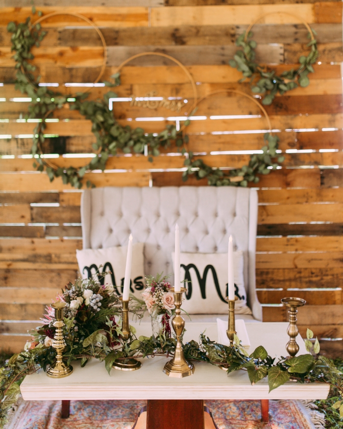 Bride & Groom's Table