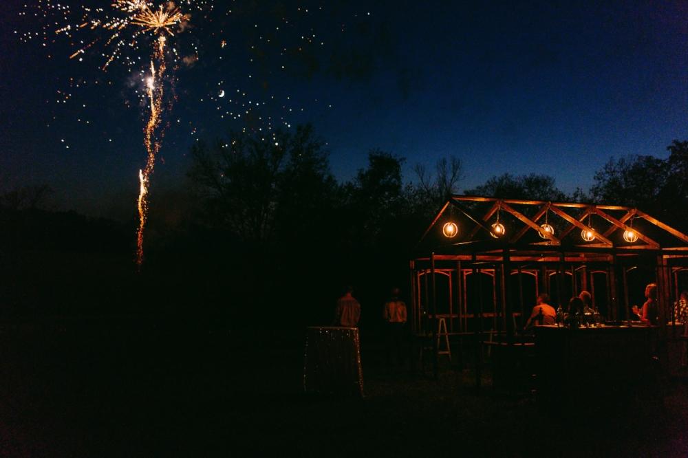 Surprise Fireworks Show