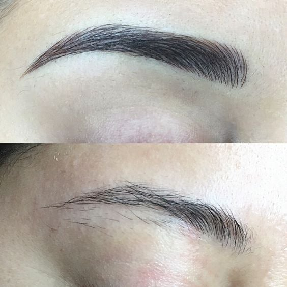 """Creating one hair stroke at a time"" 🙌 Before and After🙌 Tag a friend who would love this service or would love to learn this procedure - and share the brow love @bystella_cormetictattooing. bystella Pigment used  is Dark brown  Our products are of the highest quality and highly regarded in the cosmetic tattoo industry. They have been carefully selected and formulated to ensure they are safe and most stable in their nature. Consistency, Ensures artists are able to easily deposit pigment into the skin. bystella pigments are: ✔️tartrazine free ✔️no heavy metals ✔️stay true to their colour ✔️semi permanent but stable colour fading ✔️not tested on animals #bystellapigments #bystella_cosmetictattooing"