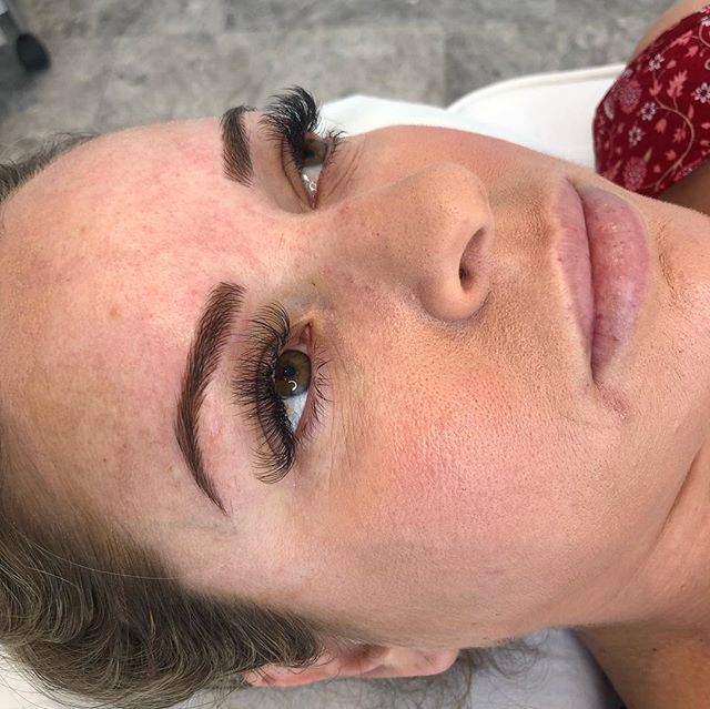 New micro-bladed eyebrows  Technician : Stella Shenouda Brief was to achieve naturally fuller eyebrows . We used a combination of U18 and flat 7 blades with Bystella pigments in the colours #blonde & #lightbrown for this look .  For bookings & Enquiries in April contact info@Bystella.com.au Or call 1300 001 218