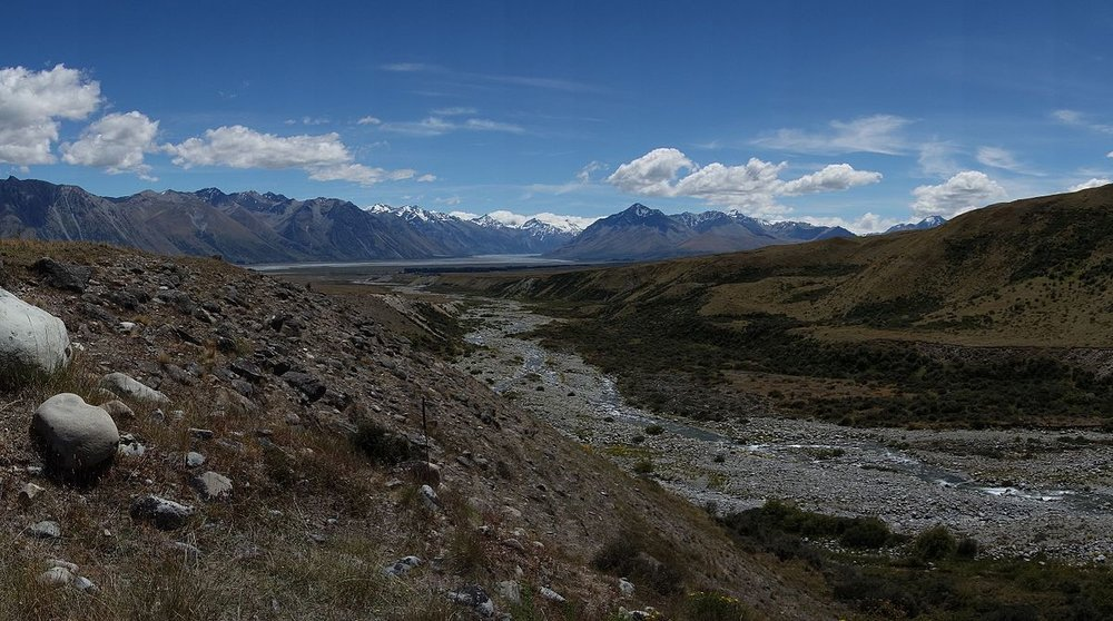 Macaulay River, Lake Tekapo Area.