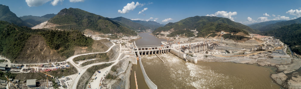 Jan 17, 2018 - Xayaburi, Laos. The Xayaburi dam is scheduled to start producing electricity in 2019. The reservoir is expected to cover an area of 49 square kilometres, and 95% of the 7,406GWh of annual energy production is expected to be exported to Thailand. © Nicolas Axelrod / Ruom