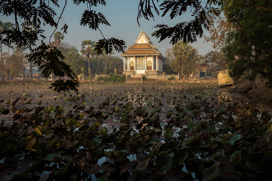 February 04, 2014 - Ta Reach Village (Kampot). View of one of the village's water reservoir. © Thomas Cristofoletti / Ruom for SNV