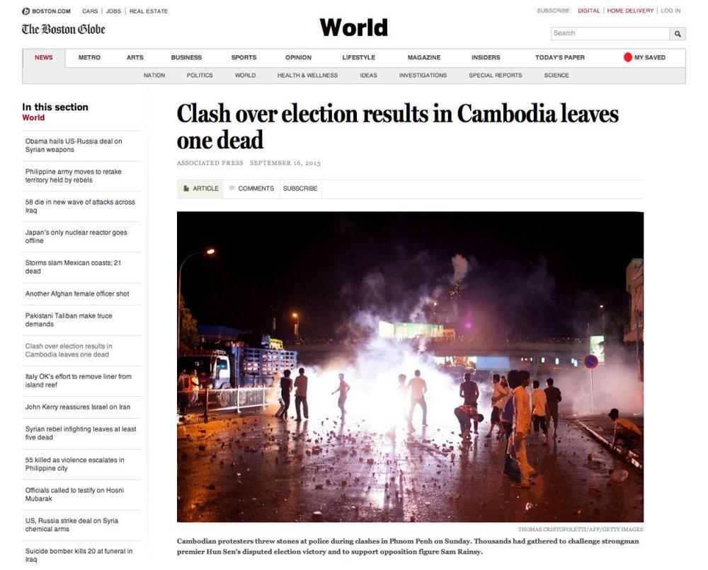 The Boston Globe - Thomas Cristofoletti / AFP