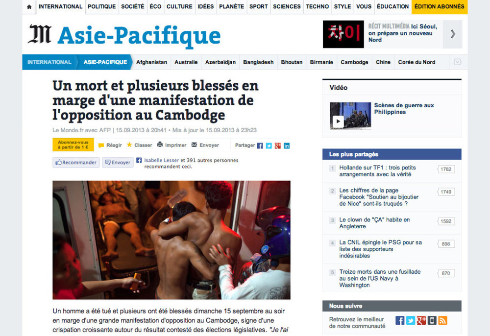Le Monde - Thomas Cristofoletti / AFP