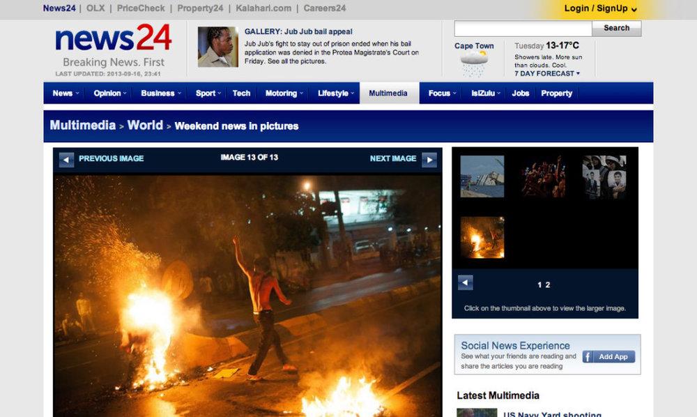 News 24 - Thomas Cristofoletti / AFP