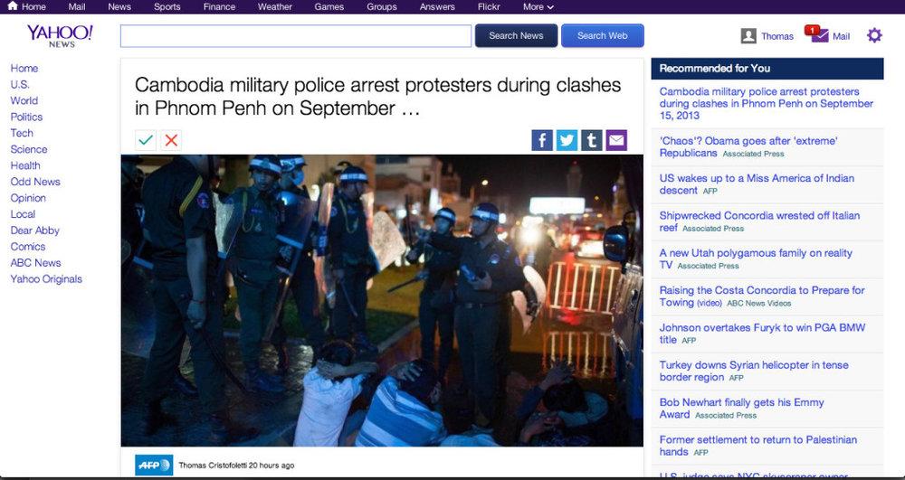 Yahoo News - Thomas Cristofoletti / AFP