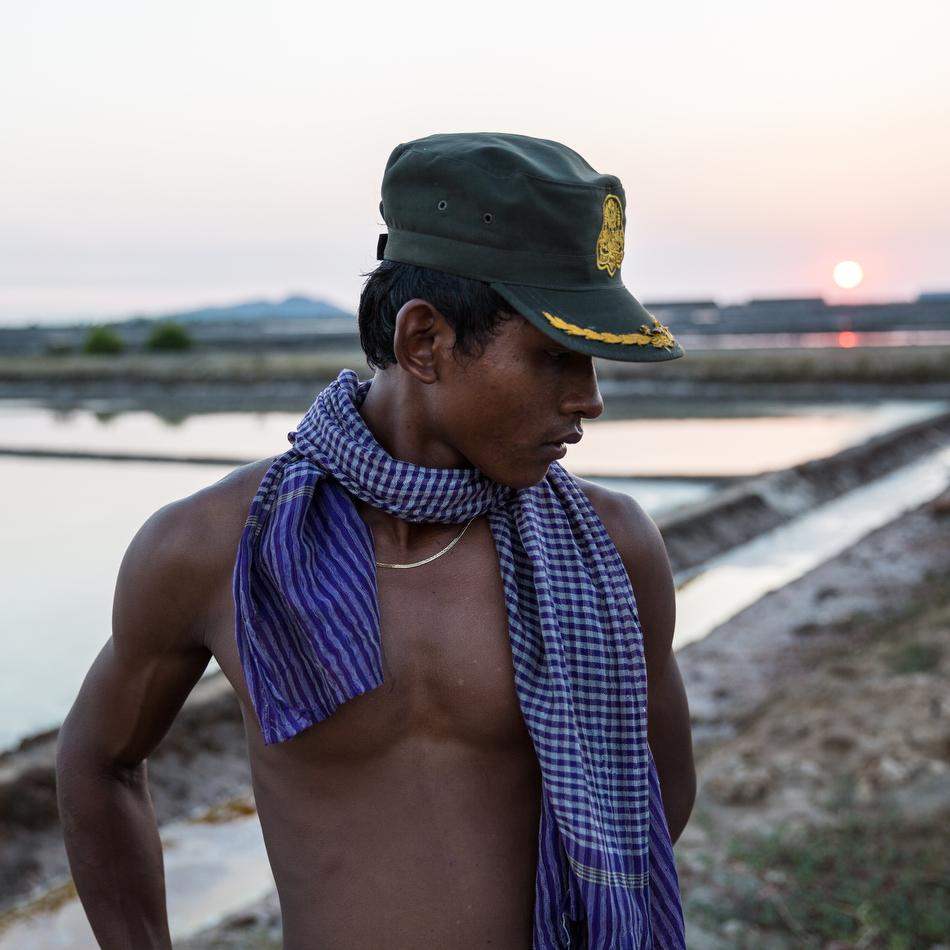Feb 27, 2015 - Kampot, Cambodia. Salt fields. © Nicolas Axelrod / Ruom