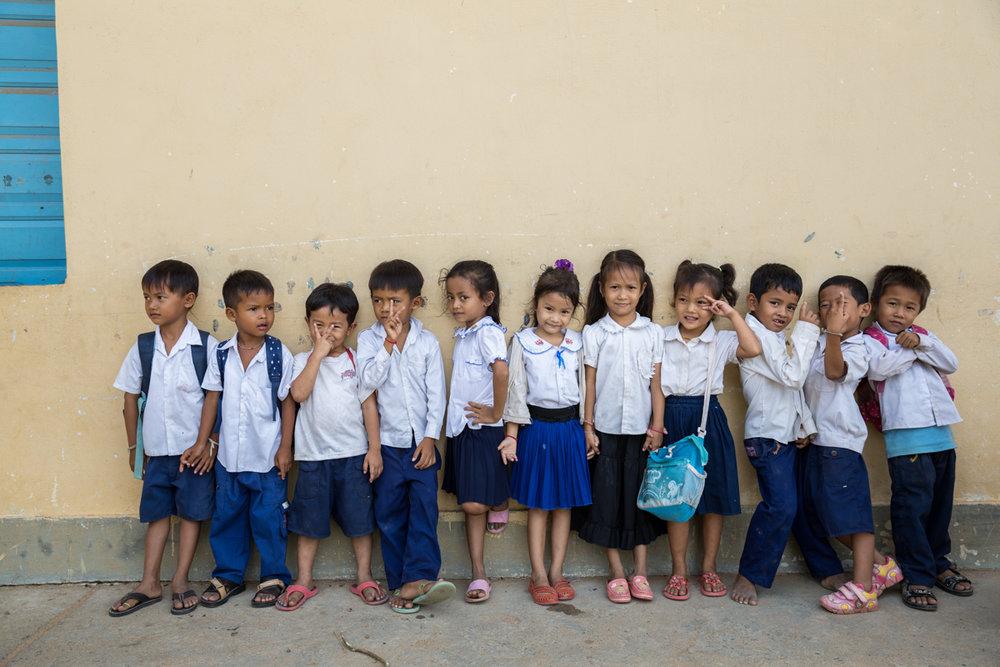 May 20, 2014 - Phnom Penh, Cambodia. Kraing Thnong Primary School. UNICEF, WASH. © Nicolas Axelrod / Ruom