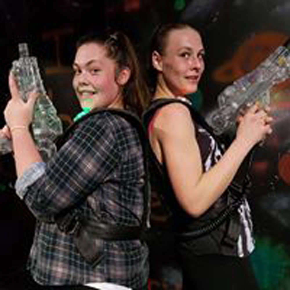 Play Laser Tag - $5pp Bookings preferred