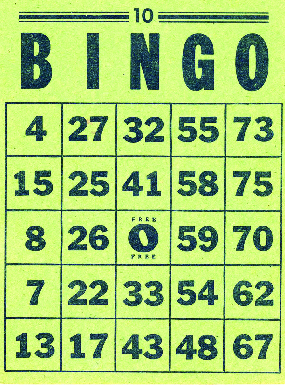 Seniors Bingo - Mon & Thur in OctoberMonday: members $3 Thursday: all welcome $2 per book+ $1 jackpot