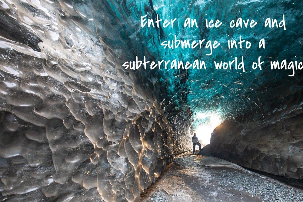 Vatnajökull ice cave