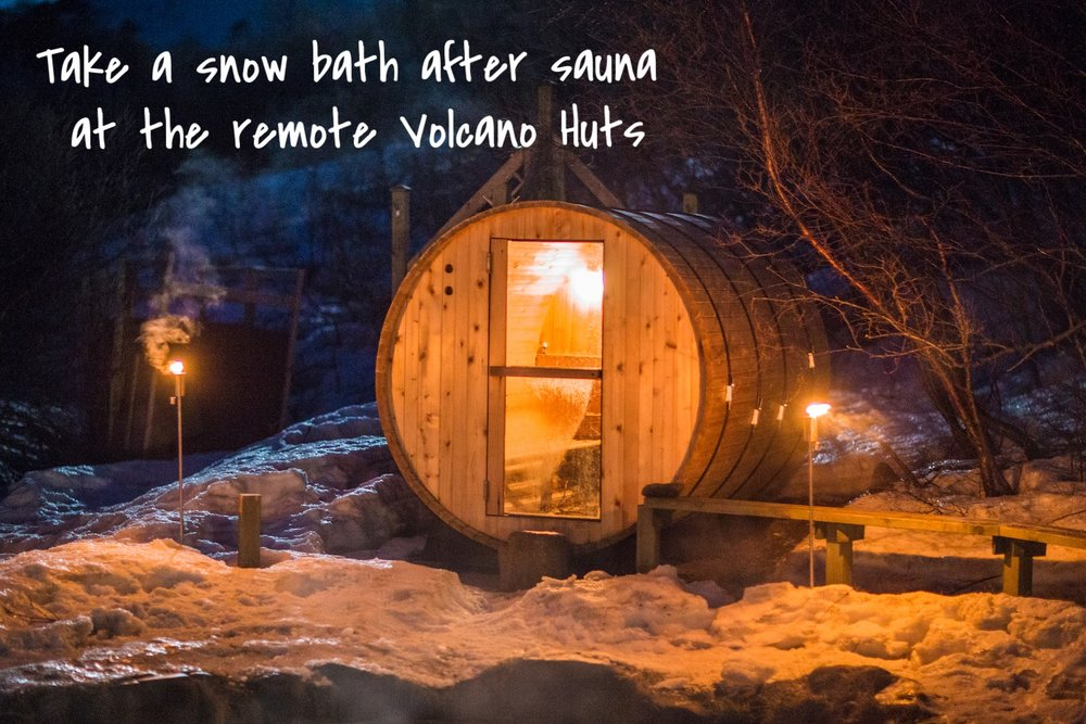 Volcano Huts Porsmörk