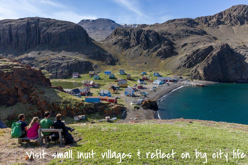 Niaqornat Inuit village