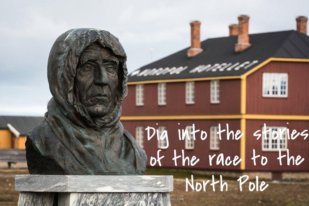 Roald Amundsen in Ny-Ålesund