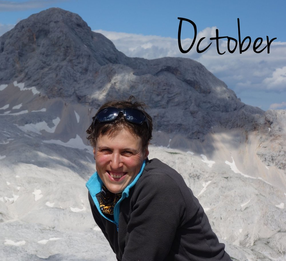 """In October, I jumped of joy, when the great Debbie Sanders expressed interest to guide for Puffins. Debbie is Belgium's unrivalled authority with regards to mountain walking. She has covered almost all of Europe's mountains and is starting to conquer other continents as well. She is the chairwoman of the biggest non-profit hiking community of the Benelux """"Hiking Advisor"""" with 5000 members and wrote a book on mountain hiking. I'm very proud to announce today, that we will guide together on  Scotland's wild western islands of the Inner Hebrides from 22-29 September,  with 3 nights in B&B's and 4 nights aboard a sailing yacht. Limited edition for 10 Puffins only !"""