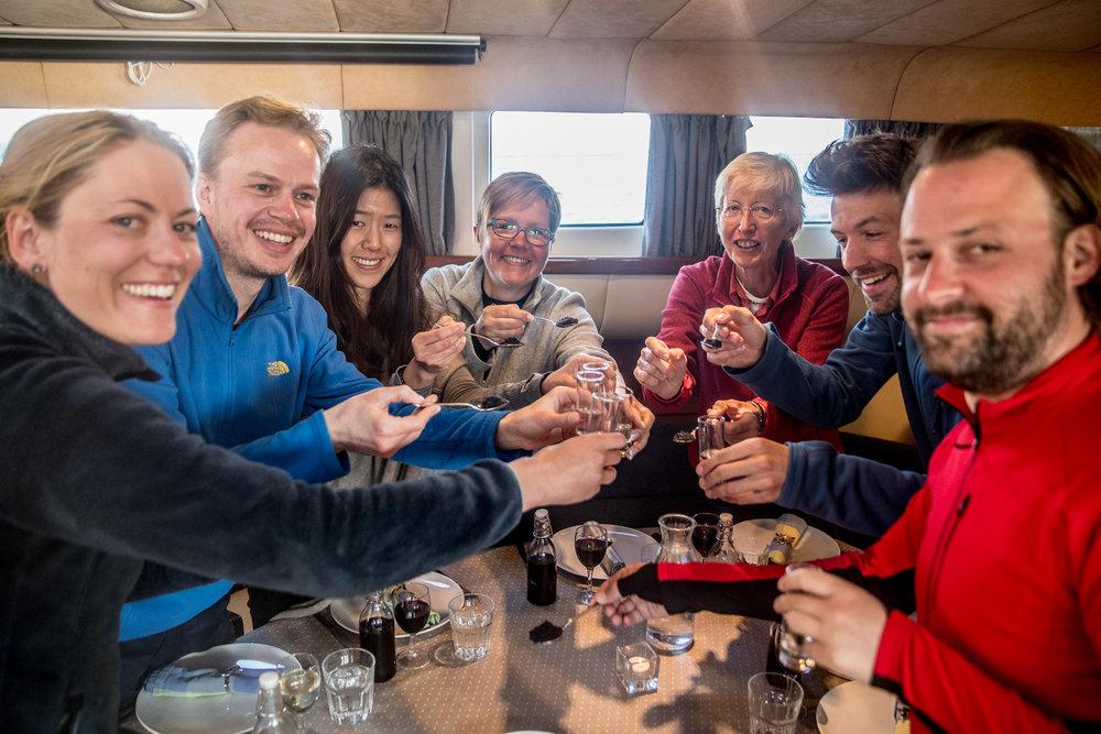 Cheers to Friendship! Greenland Expedition 2017: Disko Island