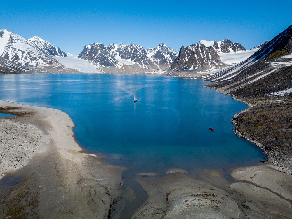 Poolreizen in kleine groep : Groenland & Spitsbergen -