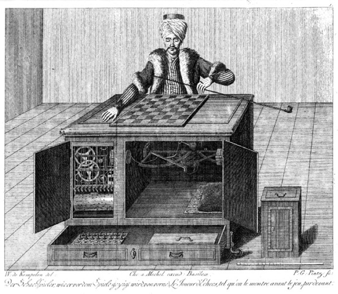 The Mechanical Turk  by Wolfgang Von Kempelen