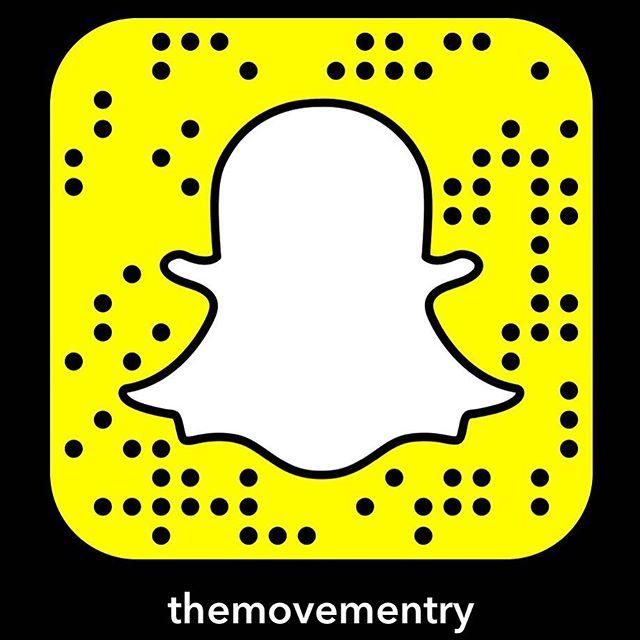 The Movementin löytää nyt myös Snapchatista! Addaamalla meidät pääset seuraamaan Movementin toimintaa vielä enemmän!💃🏻