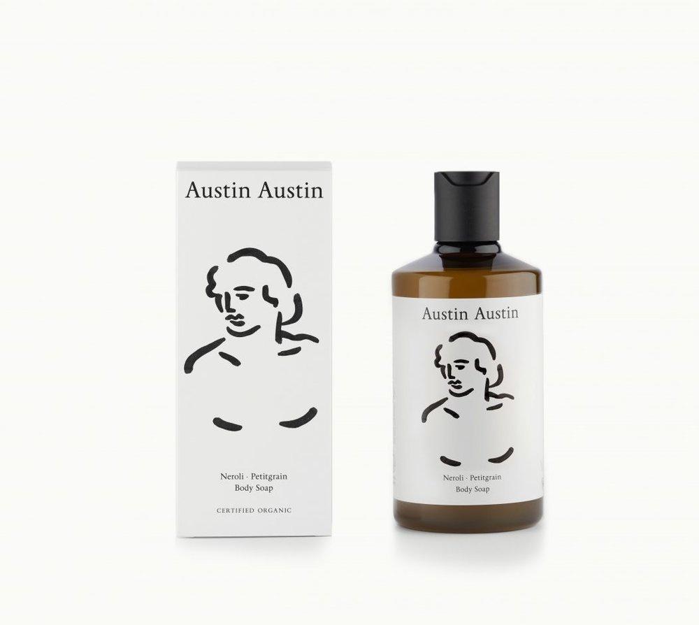 Austin Austin Neroli & Petitgrain Body Soap,  £16,  Buy now