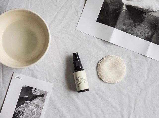 A winter favourite of Katherine's, the anti-blemish oil from @bashoskin - not too fragrant/floral and great for keeping dry skin at bay over the colder months. Find out more about this lovely Cornish based brand on #MoreThis_LessThat