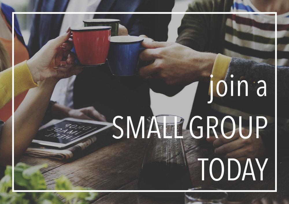 スモールグループ   スモールグループは聖書の学びや人生を共にしてイエスをもっと知るための集まりです。スモールグループは、クリスチャンにとっては弟子として成長できる場所、クリスチャンではない方にとってはイエスのことを学べる場所です。