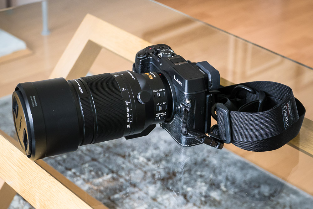 GX8 + Leica 100-400 …. - In my view this is the ultimate combination for distant wildlife photography. An equivalent FOV of 200-800 mm is ideal for birding, as well as being great fun. The manageable size and weight is what makes this setup so special