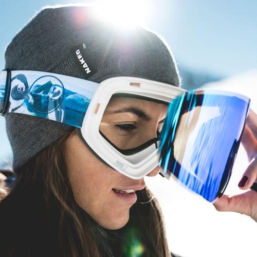 edudeal : Skibrille von  NAKED Optics  + gratis Bandana + gratis Versand