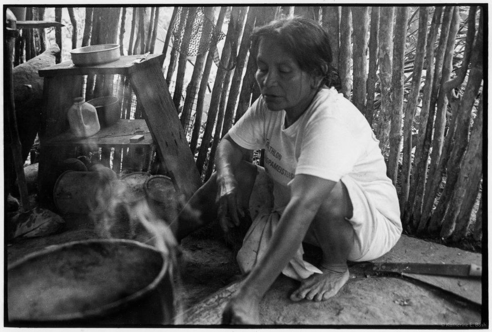 Pescado,  Quichua, Canelos, Pastaza, Oriente Ecuador, Amazonia, 1999