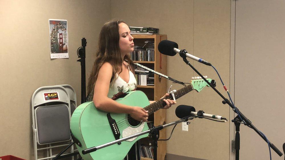 Amalia Live Today on KALW Radio.JPG