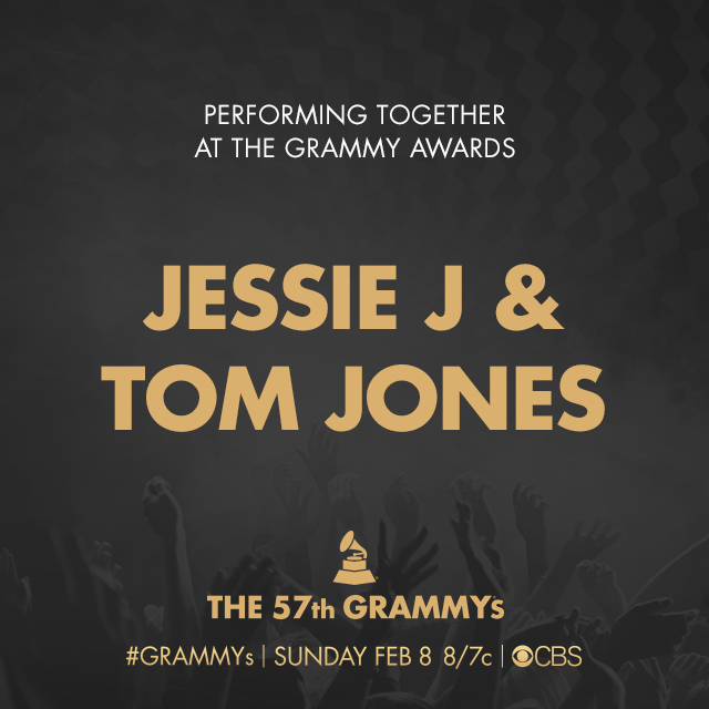 Jessie J & Tom Jones