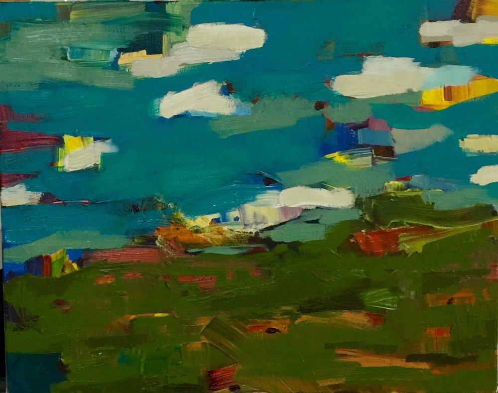 Playground World 12x14 oil on canvas .jpg