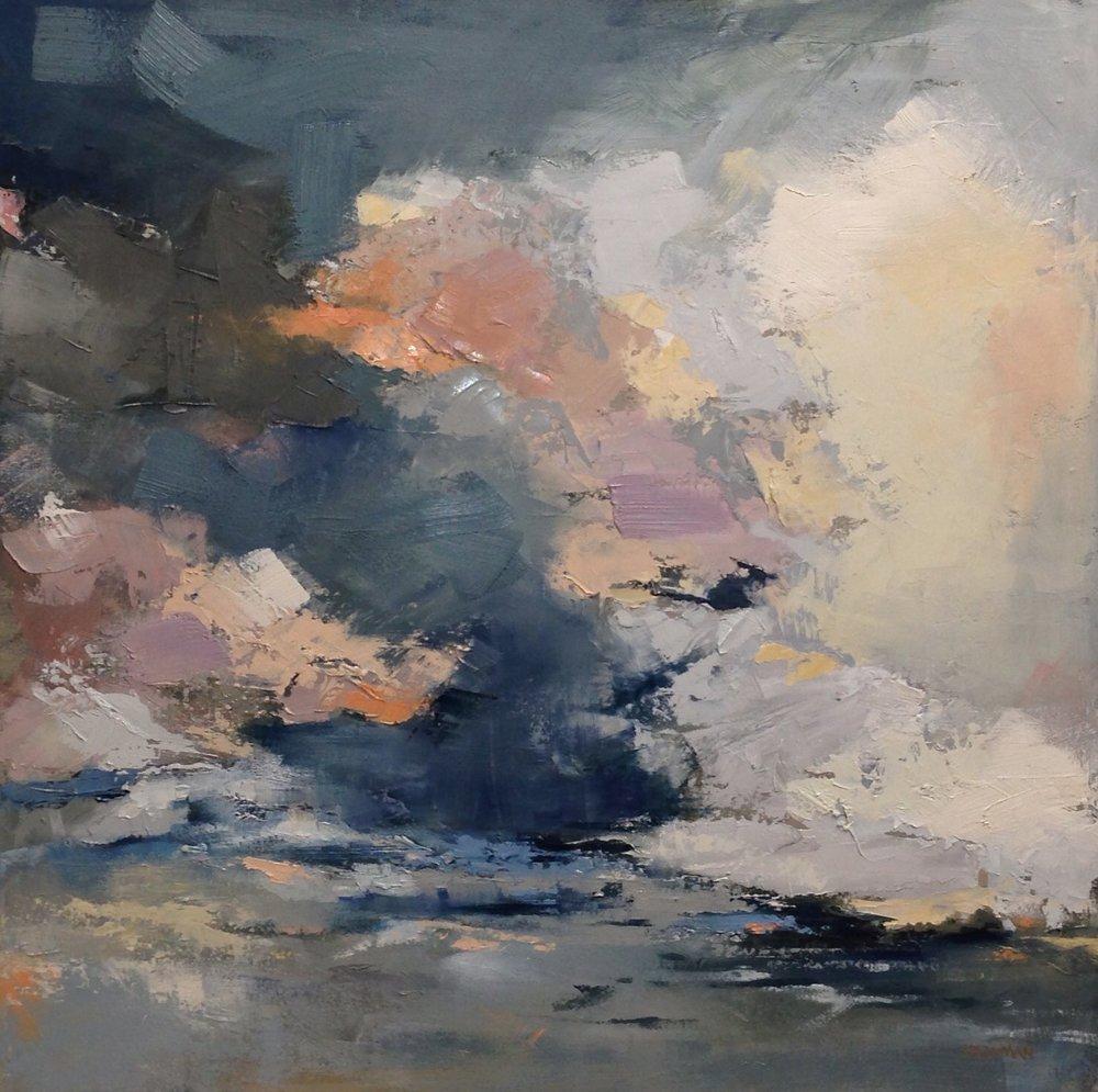 Skyfall SOLD 30x30 oil on canvas .jpg