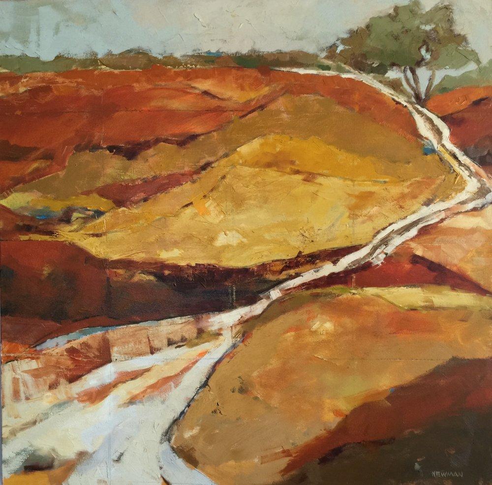 Winding Way               36x36 oil on canvas .jpg