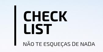 documentos de Viagem (digitalizados) - Guarda uma cópia no email/drive e no meu telemóvel para fácil acesso.☑ Bilhetes de avião☑ Reserva de alojamento☑ Cartão de Cidadão☑ Passaporte☑ Vistos☑ Roteiro de Viagem☑ Carta de Condução☑ Seguro de Viagem☑ E-visa