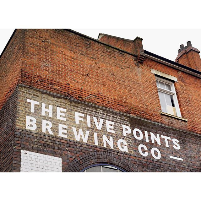 Tonight at @tate Modern, a display of my design work for @fivepointsbrew plus a tap takeover. See you there! 🍻 @tateeats ⁣ ⁣ ⁣ ⁣ ⁣ ⁣ #design #graphicdesign #branding #beer #beerdesign #signwriting #lettering #type⁣ #typography #fivepoints #thefivepointsbrewingcompany #tate #tatemodern