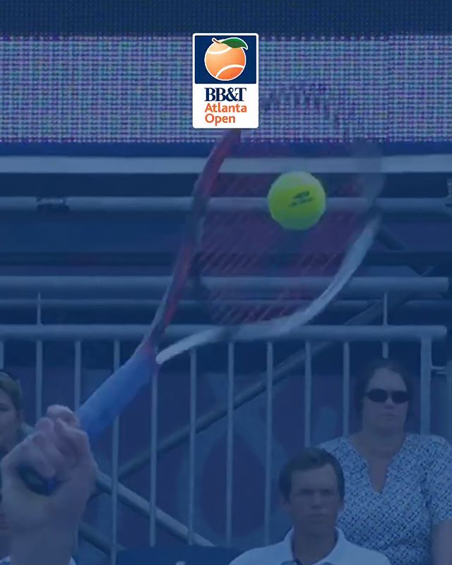 Download the new BB&T Atlanta Open app for all the latest developments from the tournament, and look out for some of m2's handiwork with the video intro!⠀ ---⠀ #app #appstore #atlantaopen #tennis #professional #pro #slomo #atlanta #video #mobile #vertical #vertical