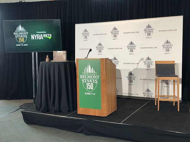 We're about to go LIVE on nyra.com for the 2018 Belmont Stakes Draw from Citi Field! m2 is handling the entire production and livestream presentation with our friends at B-LIVE.  The livestream starts at 5:30 PM EST! — #BelmontStakes150 #belmontstakes #nyra #live #livestreaming #citifield #triplecrown #nyrabets #racing #kentuckyderby #production
