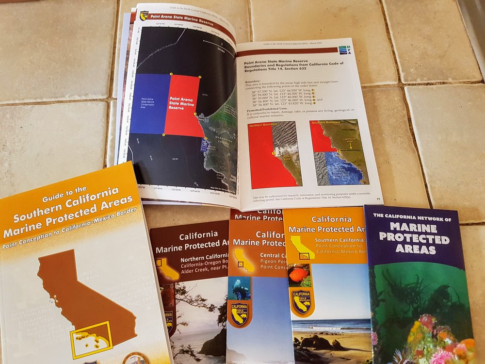 Some of the MPA information materials available to stakeholders (including a summary for each SMR)