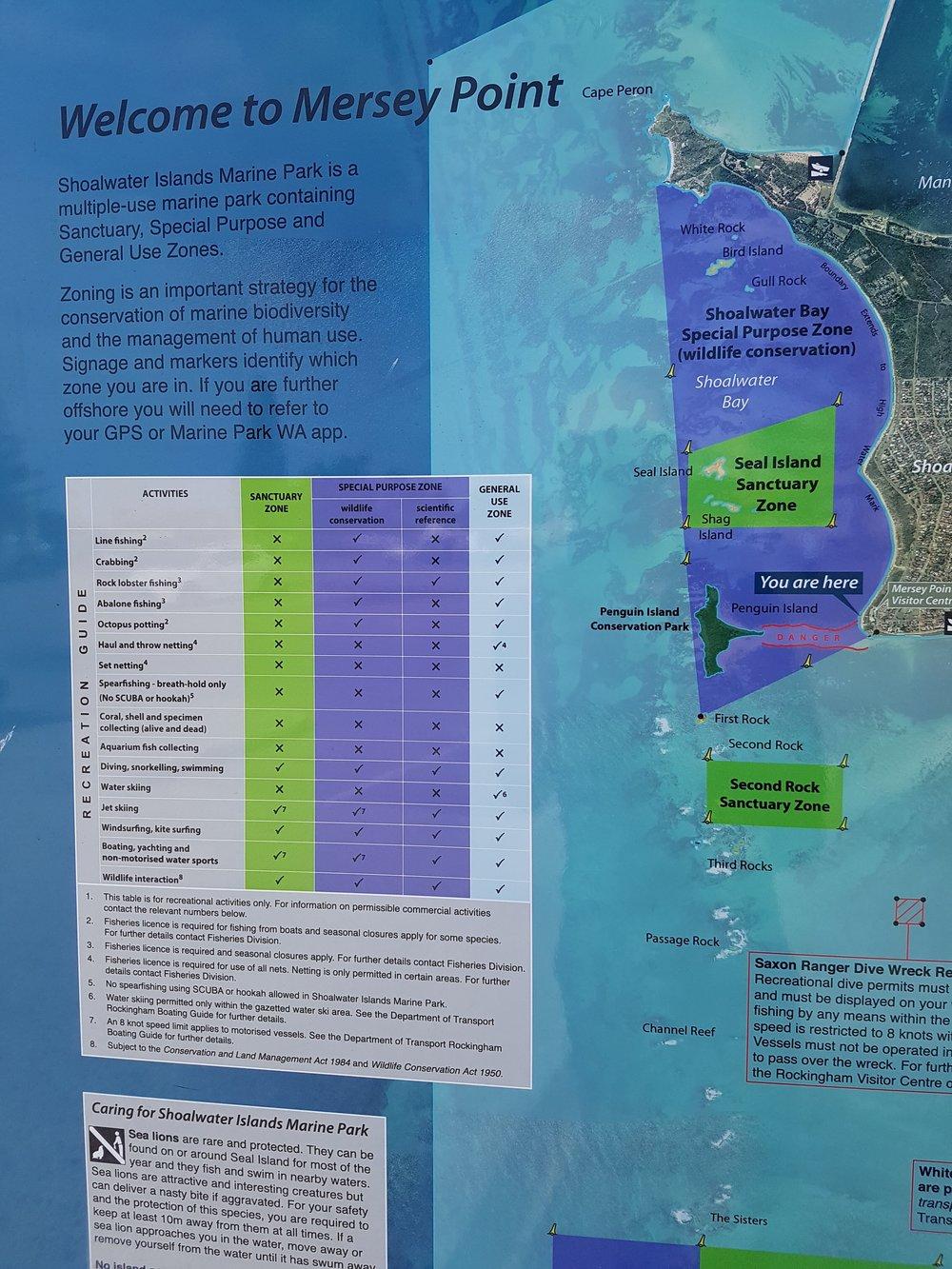 Shoalwater's sanctuary zones