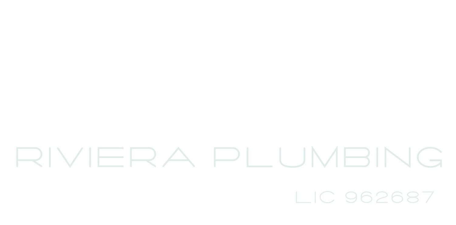 Riviera Plumbing | Service, Repair & Drain Cleaning
