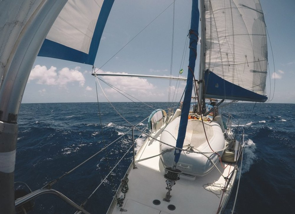 Sailing from Great Inagua, Bahamas to Port Antonio, Jamaica.