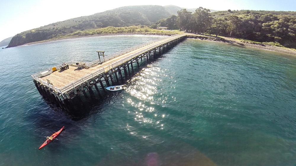Prisoners Harbor, Santa Cruz